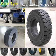 Top Sale heavy duty trailer solid rubber tires 9.00-20 10.00-20, solid rubber wheels for wheelbarrow made in China