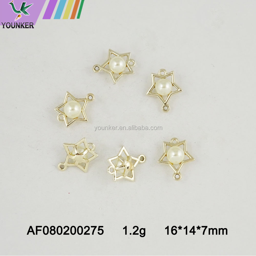 Latest Pearl pendant pearl charm for necklace making