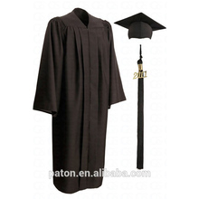 Hot Style Design Black Graduation Gown Dress Of Latest Graduation Gown