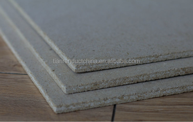 Wood Cement Board : Waterproof light weight high density partition wall wood