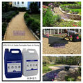Resin Bonded Epoxy Paving for Garden Paths