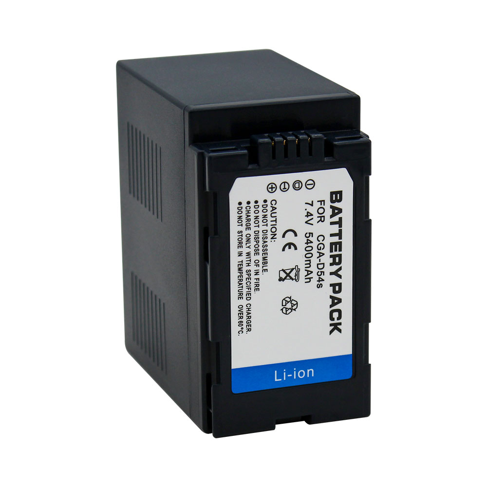 Wholesale For Panasonic Camcorder camera digital li-ion battery pack CGA-D54S CGR-D54S