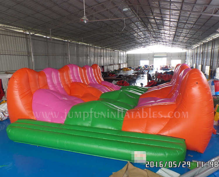 China adult inflatable obstacle course for sale,5K inflatable obstacles course insane run for adult inflatables
