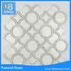 high quatlity greece Volakas white marble floor tiles crystal polished marble floor tile