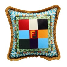 High Quality Tassels Design Luxurious Style Decorative Square Throw Pillow Covers