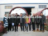 2012 the latest technology and high quality waste tyre pyrolysis machine