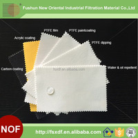 Water & Oil repellent Antistaic PTFE treatment Non-woven Needle Felt Filter cloth Filter Material
