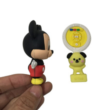 China Wholesale Custom 3D Fashion Cartoon Logo Key Tag Soft PVC Rubber Keychains For Promotion Gift