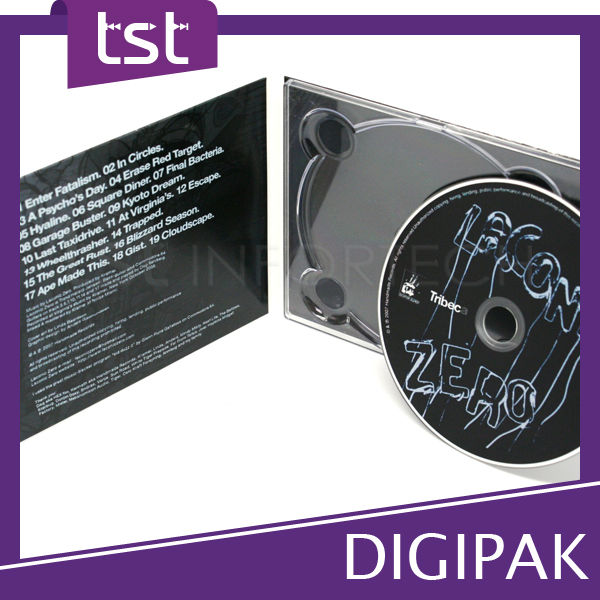 Premium CD Case with Packing & Printing Solution