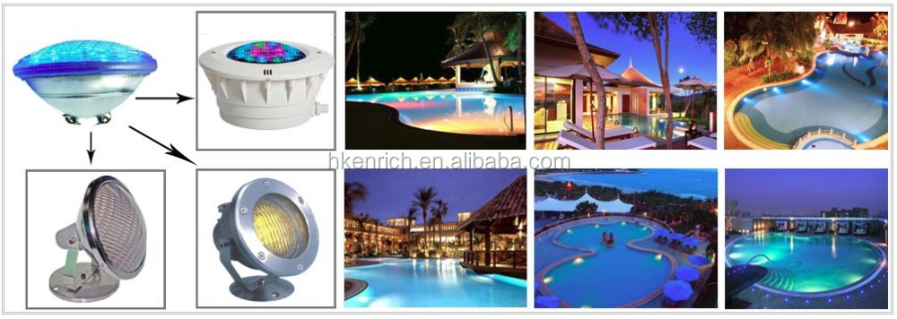 2016 Hot Embedded Floating LED Pool Light For Ponds