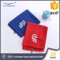 Embroidery textile golf towel custom logo microfiber fabric
