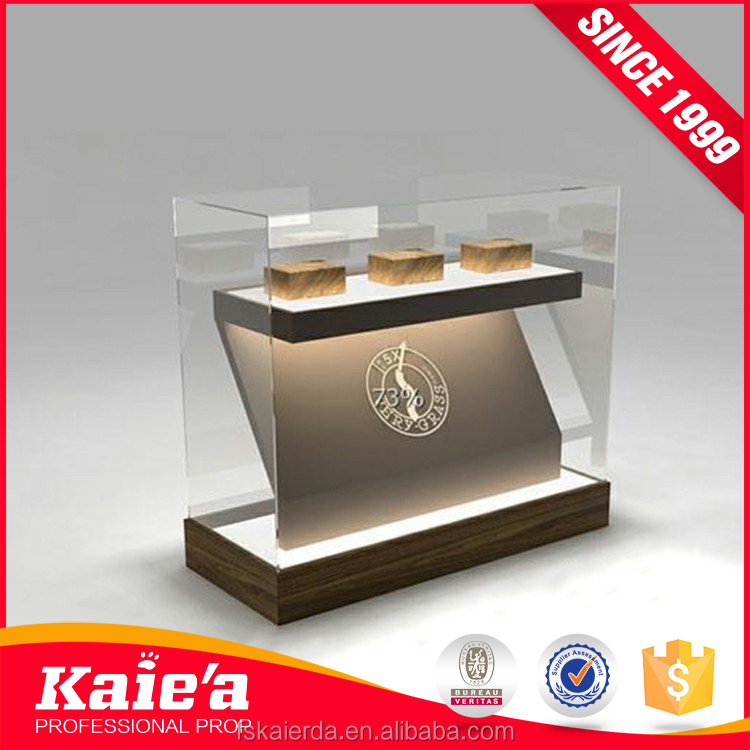 2017 Hot sale gorgeous metal retail jewelry cabinet