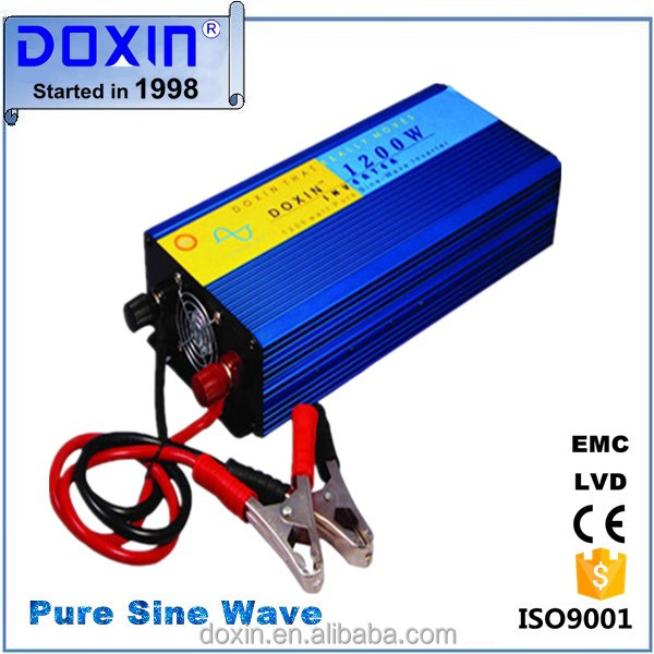 Extra-hot products 1200w 2400w(peak) pure sine wave inverter 12v 24v 36v 48v to 220v 230v 240v 110v for solar power