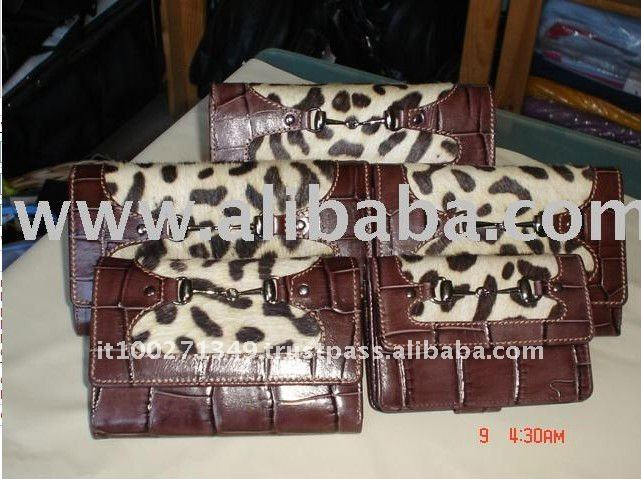 N Promotion Items Womens Elephant Genuine Leather Wallets