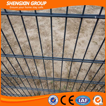 PVC Coated Twin Mesh Fence