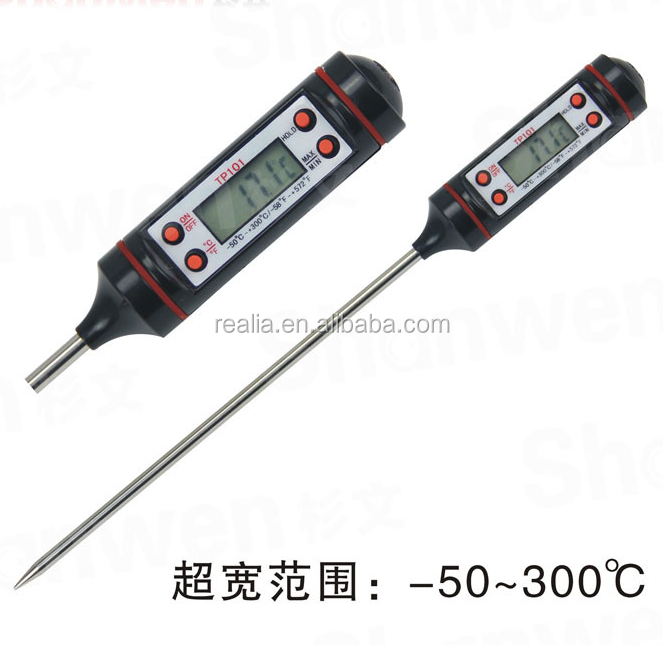 Waterproof Digital thermometer,portable digital thermometer for Laboratory use