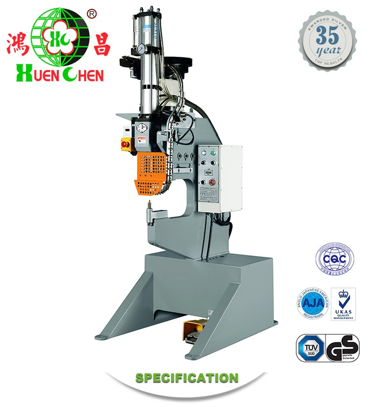 Good quality automatic four claws nail riveting machine