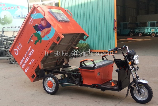 CE certificate approved electric cargo tricycles/courier/express/logitics deliver cyclomotors/vehicles 3100009