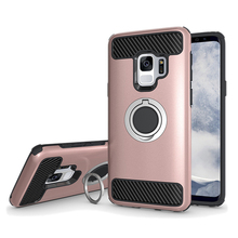 2018 China supplier high quality mobile phone case for samsung s9 case with finger ring,case for SM-G960