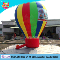 Rainbow Giant Inflatable Advertising Balloons For Promotion