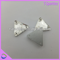Triangle Three Holes Sew on Glass Chaton Stones for Wholesale