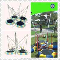 adult inflatable dolls bungee jumping trampoline