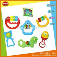 6 in 1 ABS Rattle Baby Toys