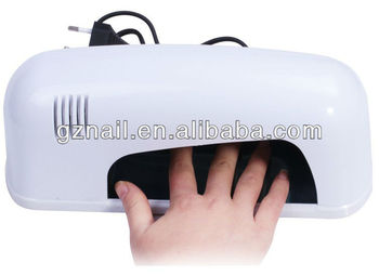 homeuseuv nail lamp 9 watt
