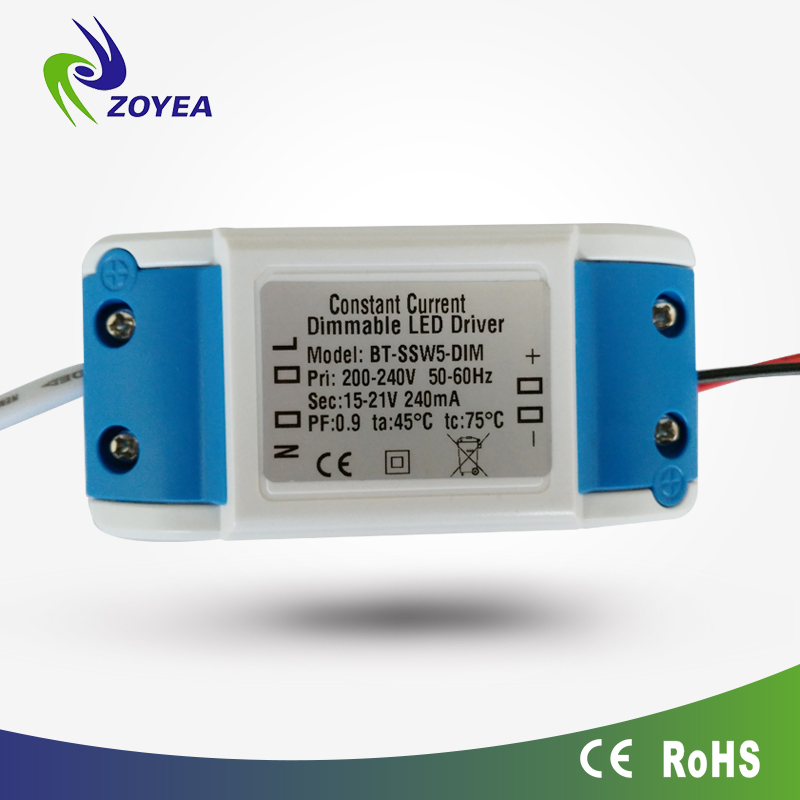 7w 12w 18w 25w 300ma 600maTriac Dimmable Constant Current Led Driver