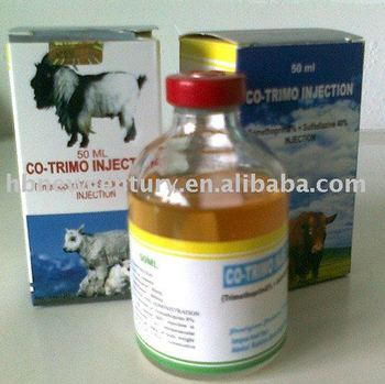 Sulfadiazine + trimethoprim Injection (40% + 8%)