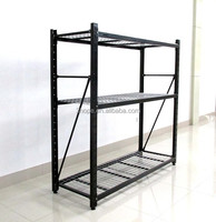 3 SHELF STEEL STORAGE RACK HOME GARAGE STORAGE