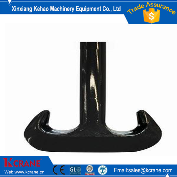 Standard Design High Safety 200t crane double hooks