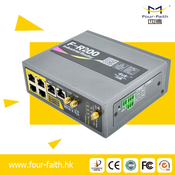 F-R200 Four-Faith industrial GPRS/3G/4G/LTE router gprs rs232 3g ethernet rj45 modem