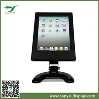 360 degree rotating black ipad stand tablet cases 8 inch