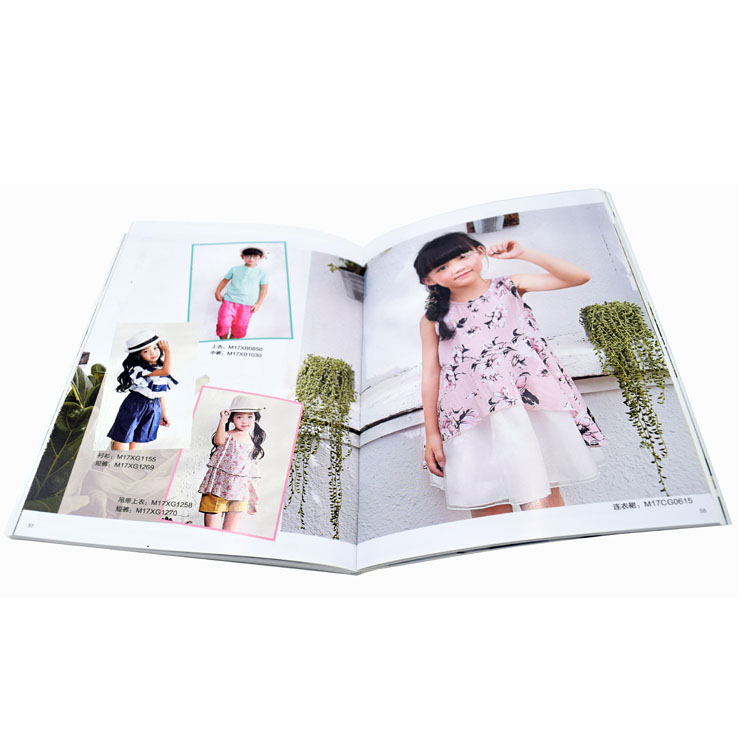 soft cover perfect bound book /magazine/ cookbook/ catalog printing