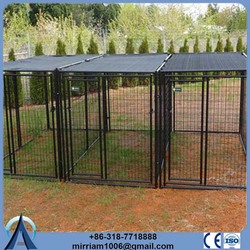outdoor or galvanized comfortable metal wire dog cage