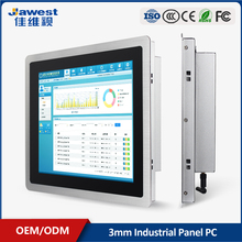 "10.1"" 12"" 15"" 19 inch embedded seamless panel industrial android resistive touch screen all-in-one pc"