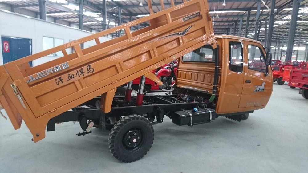 hydraulic pump tipper truck auto lift 3000 Cargo Tricycle