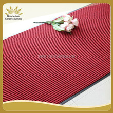 double rib carpets with pvc backed