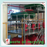 5-30T Patented Waste Oil Distillation Equipment with BV&ISO&CE