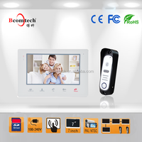 2015 hot selling video door phone hands free wired video intercom for home security