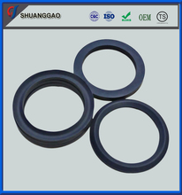 Wear resistant filled PTFE compressor packing ring
