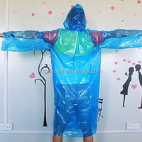 Fieldwork Travel Disposable Plastic Raincoat Poncho