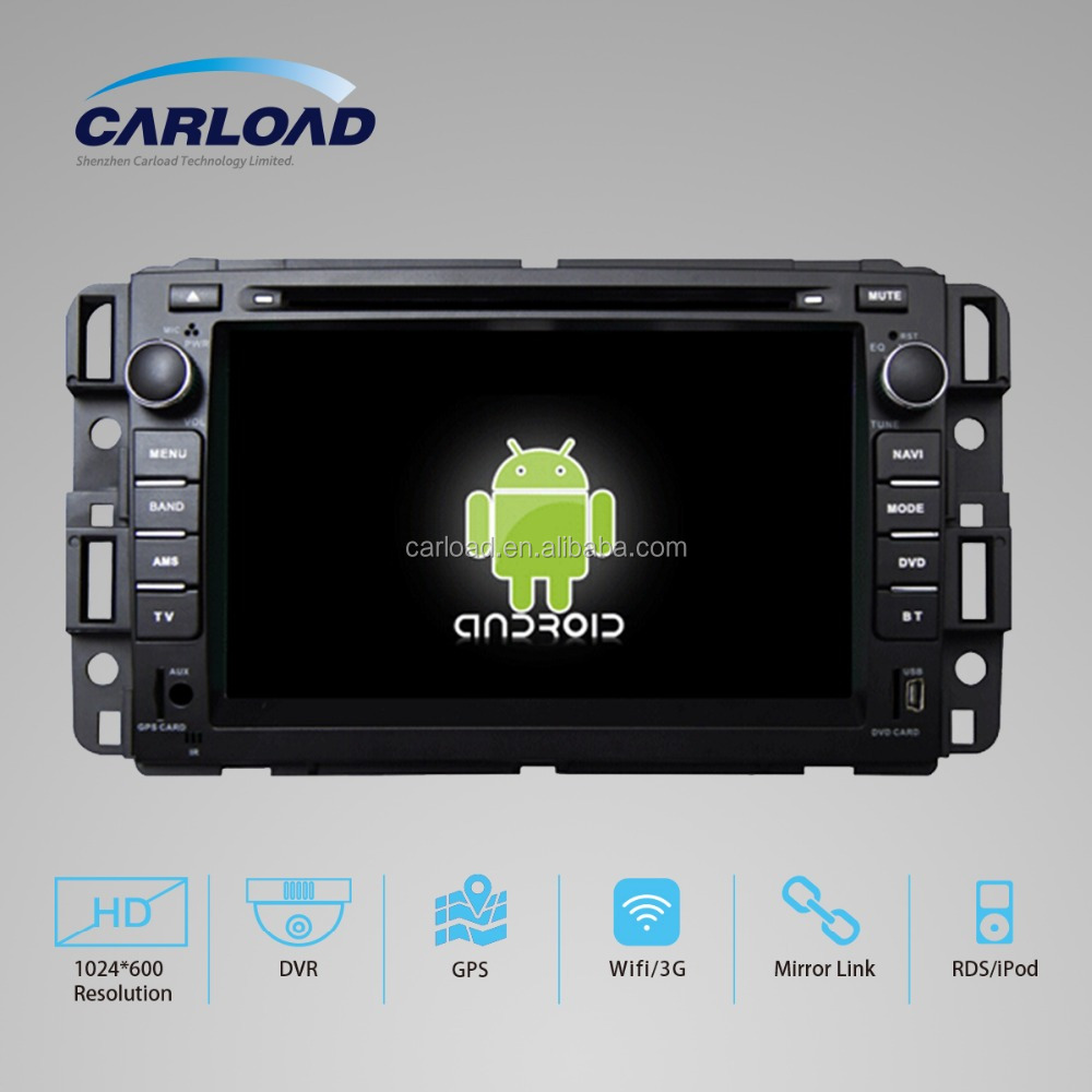 With Smart Phone Mirror Link for Buick Enclave 2008 2009 Android 4.4 car dvd