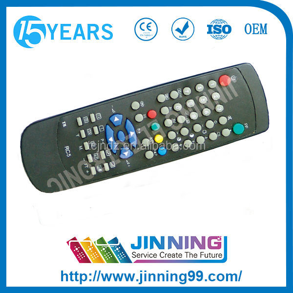 home automation touch screen TV remote control RC5