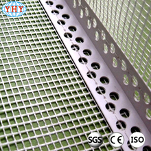 Thermal insulation eifs pvc corner bead with fiberglass mesh for construction