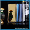 China Supplier Flip Cover 360 Degree Plating Mirror Phone Case For Apple iPhone 6 6s 6plus 6splus