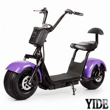 2018 New electric chopper big wheel scooter adult electric fat motor bike 48v 60v 800w 1000w 1500w