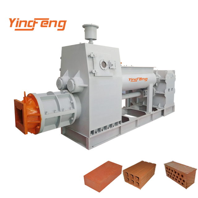 JKR45 China Adobe Automatic Soil Red Mud Brick Maker Clay Brick Making Machine For Sale