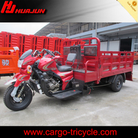 Chongqing open cargo tricycle with double seats